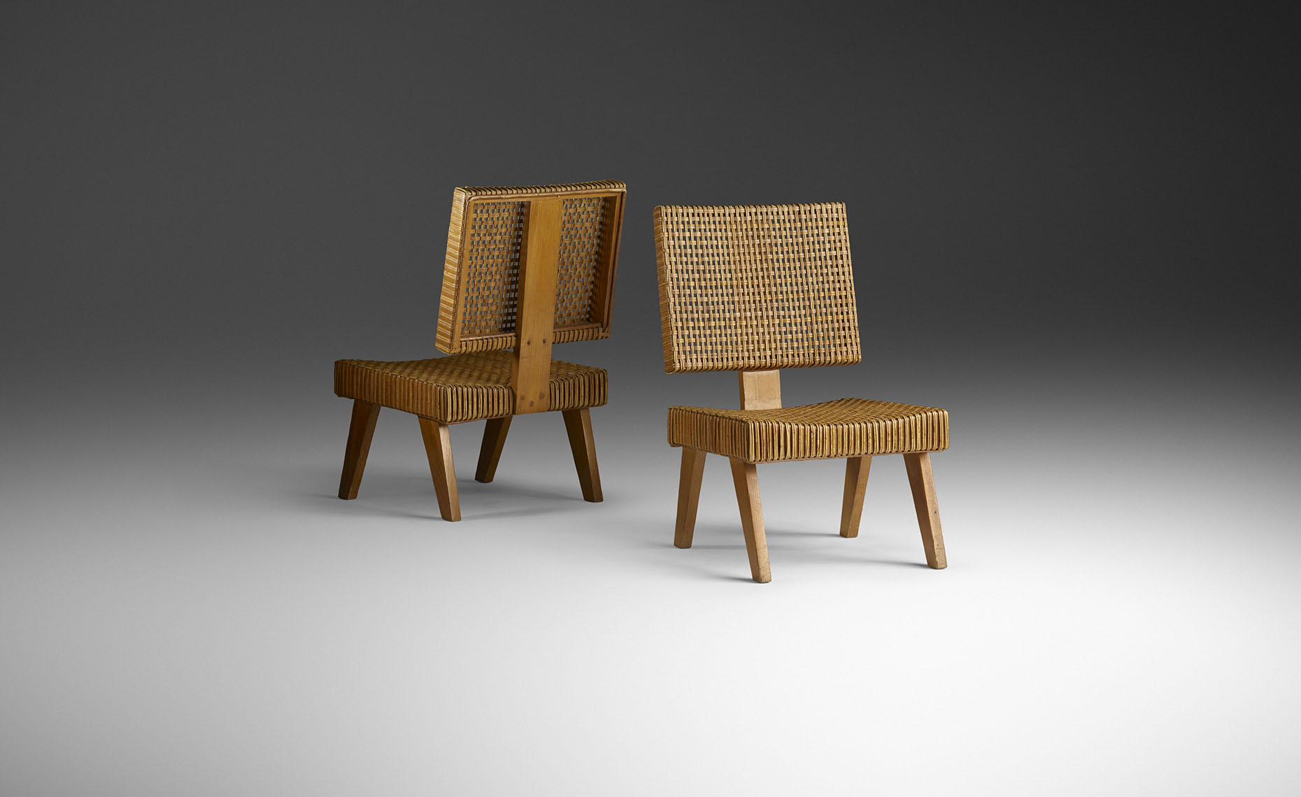 Ross Floyd - Jeanneret Lounge Chairs