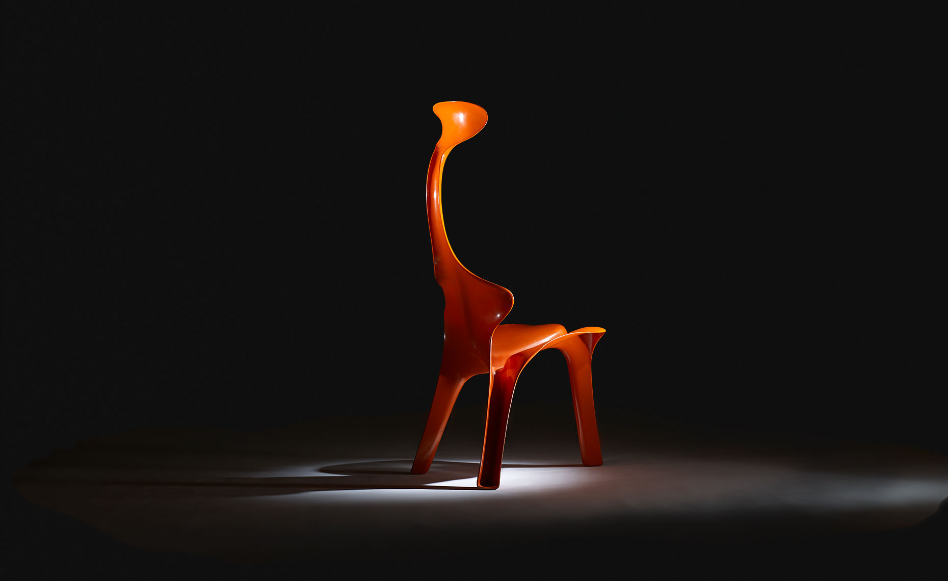 Ross Floyd - Orange Chair